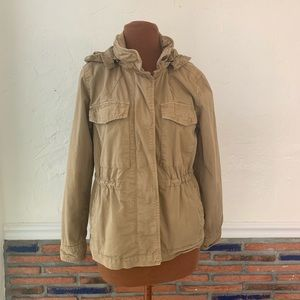 Gap khaki utility jacket